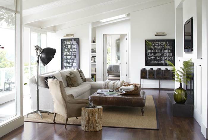 Kleines Wohnzimmer einrichten  57 tolle Einrichtungsideen fr mehr Wohnlichkeit