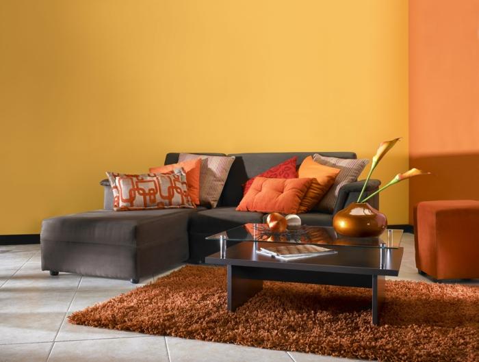 Wohnzimmer Einrichten Orange - Boisholz Wohnzimmer Einrichten Orange