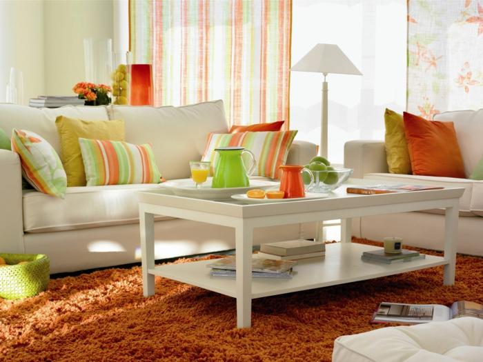 wohnzimmer einrichten orange - boisholz - Wohnzimmer Einrichten Orange