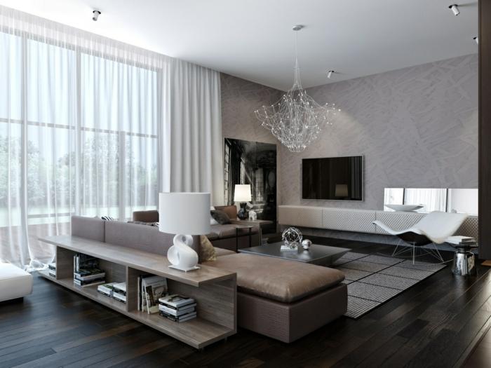 wohnzimmer modern ideen wohnzimmer - boisholz - Wohnzimmer Bild Modern