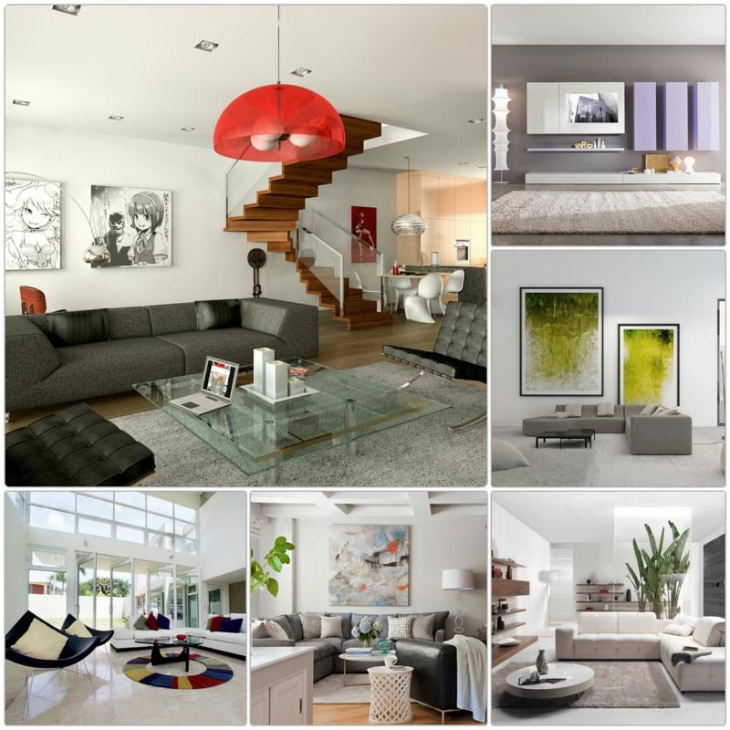 wohnzimmerwand ideen moderne dekoideen wohnzimmer dekorieren ... - Wohnzimmer Deko Tipps