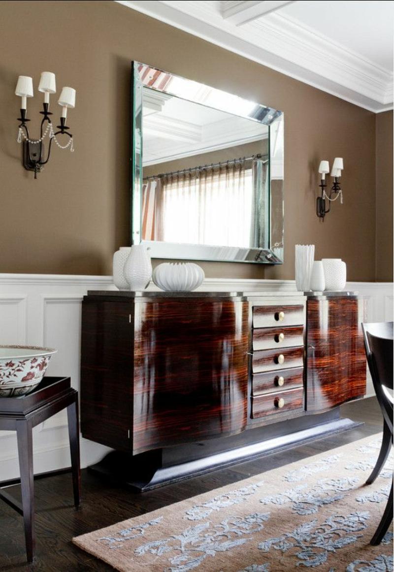 Braune Wandfarbe Entdecken Sie die harmonische Wirkung der Brauntne