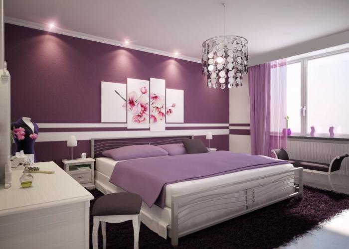 Wonderful Schlafzimmer Farben Fur Wei E Mobel   Boisholz, Schlafzimmer Ideen Home Design Ideas