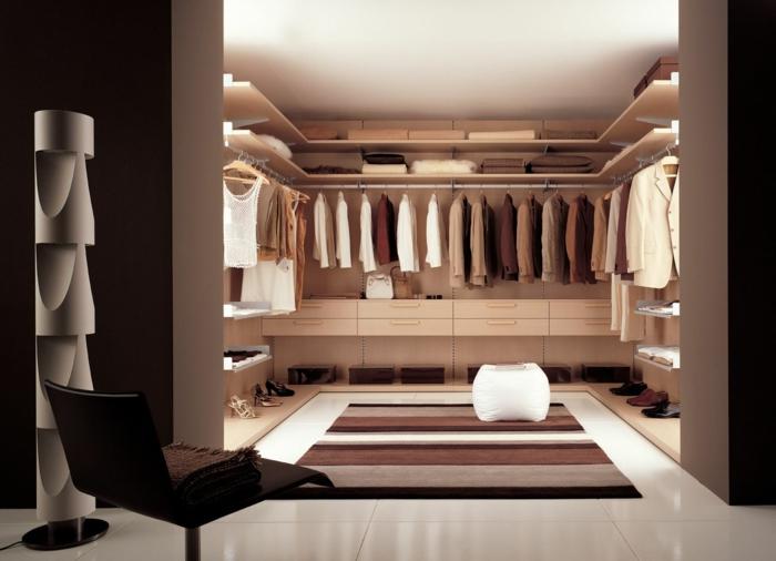 schlafzimmer ankleidezimmer einrichten ideen l - meuble garten, Badezimmer