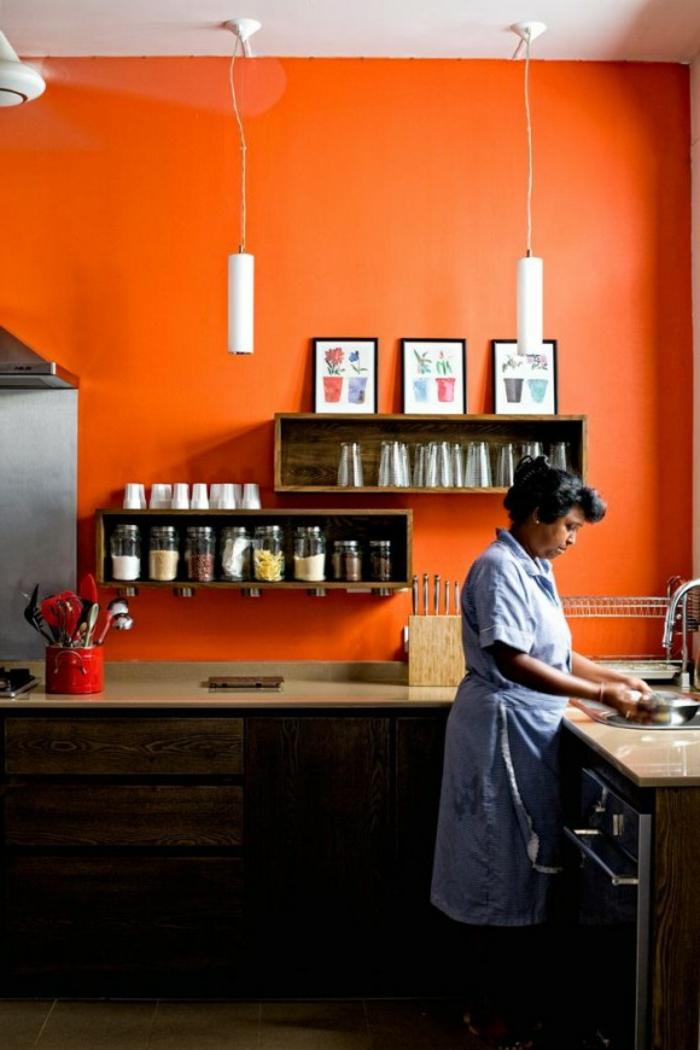 Wandfarbe Kche auswhlen  70 Ideen wie Sie eine
