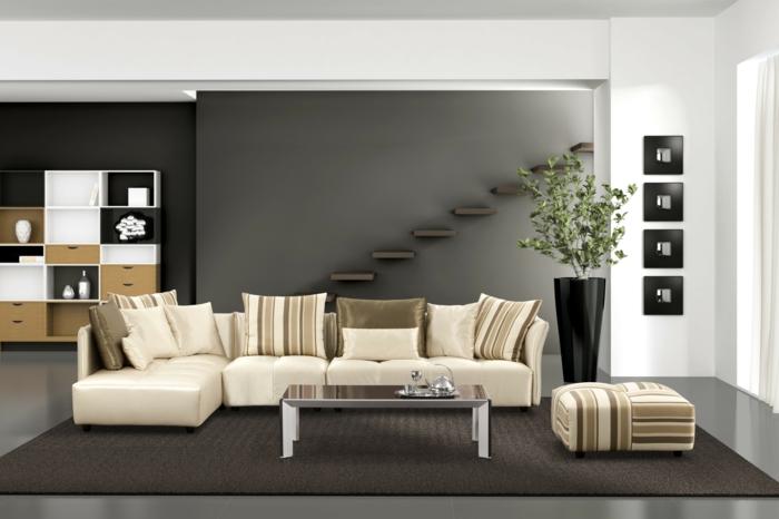 wohnzimmer ideen wohnzimmer ideen wand streichen wohnzimmer ... - Ideen Fr Wnde Im Wohnzimmer