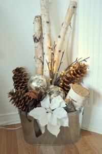 Weihnachtsschmuck im skandinavischen Stil
