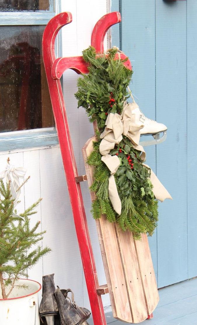 62 stimmungsvolle Ideen fr Weihnachtsdekoration aussen