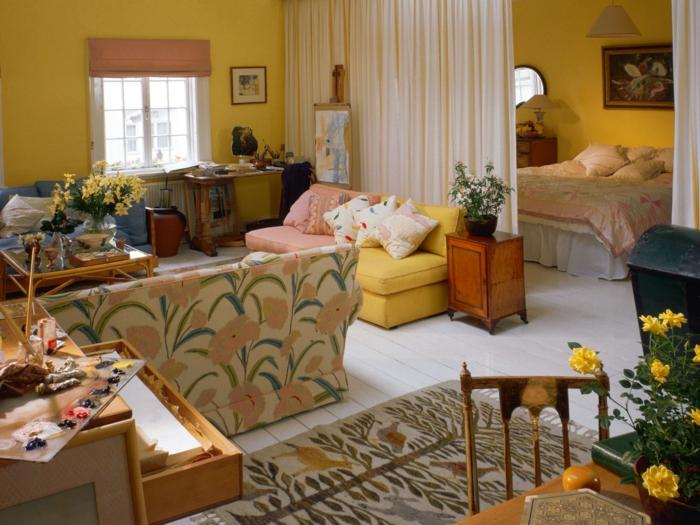63 Wohnzimmer Landhausstil  Das Wohnzimmer gemtlich gestalten