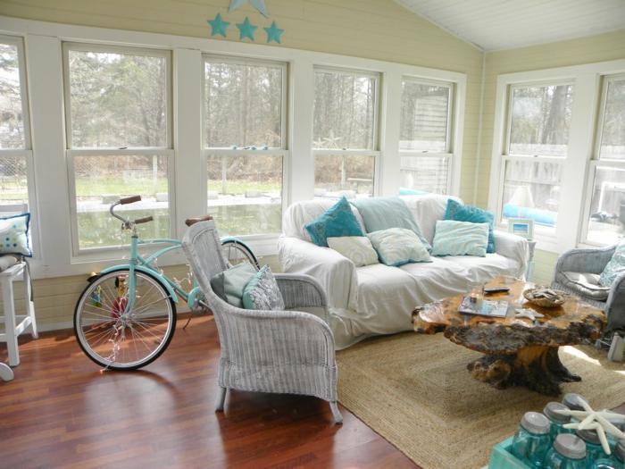 Wohnzimmer Weiß Landhaus | Wandgestaltung Schlafzimmer ...