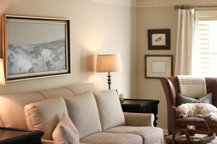 wohnzimmer beige wohnzimmer beige braun streichen wandfarbe grau ... - Wohnzimmer Beige Streichen