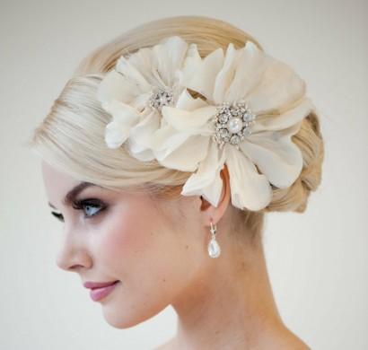 Brautfrisuren offen halboffen oder hochgesteckt  100 Hochzeitsfrisuren