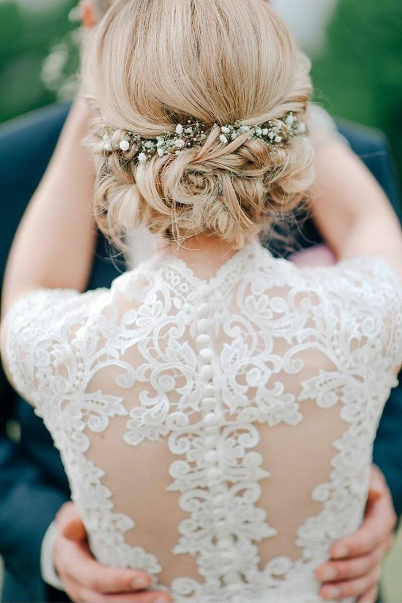 1001 Ideen fr Brautfrisuren offen halboffen oder hochgesteckt