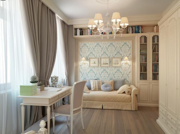 Gardinen Braun Wei Gardinen Vorhang Wohnzimmer Modern - Boisholz Vorhange Wohnzimmer Beige