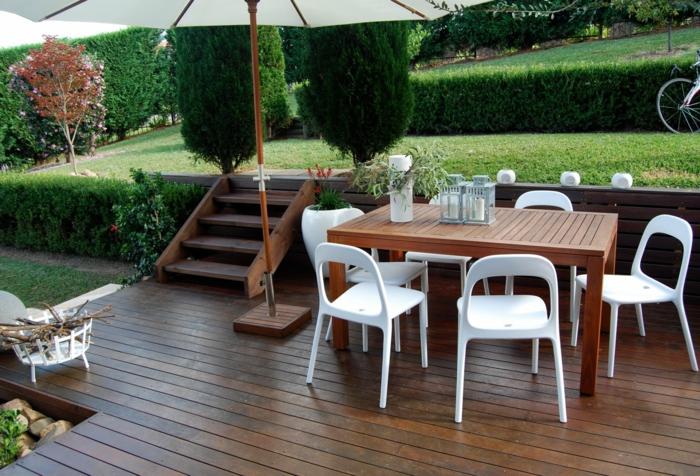 50 Gartentisch Designs Und Arrangements Für Einen Modernen Und