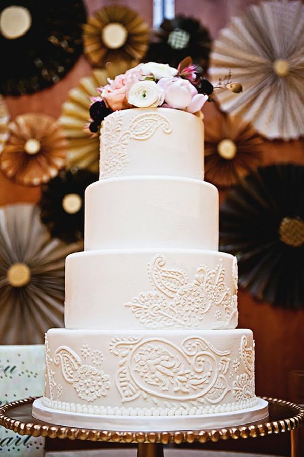 24 wunderschne Hochzeitstorten als Inspiration fr Sie