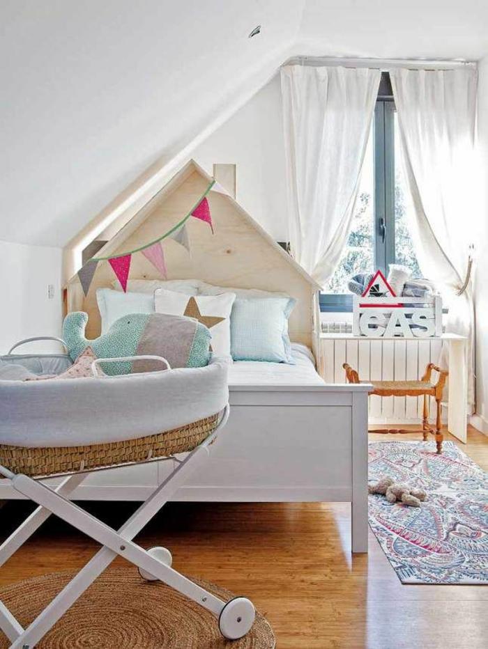 Kinderzimmer mit Dachschrge  29 tolle Inspirationen fr Sie