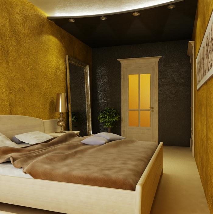 wandfarbe wohnzimmer trend wandfarben goldocker ist die trendfarbe ... - Trendwandfarben