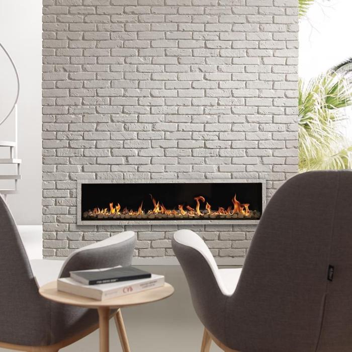 Wandpaneele Steinoptik stellen eine schicke Mglichkeit
