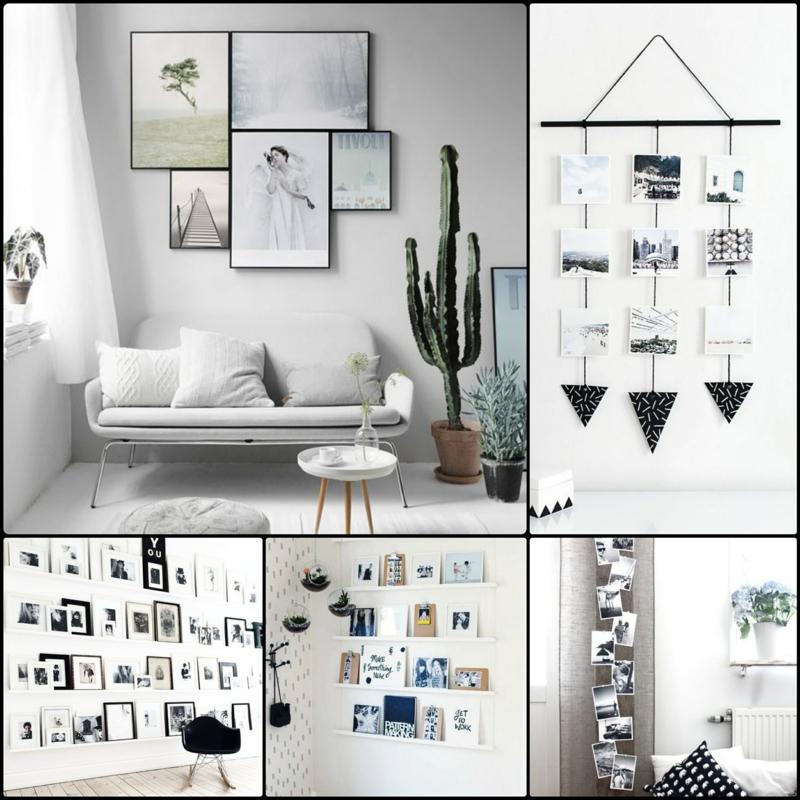 Fotowand Selbst Machen Home Ideen
