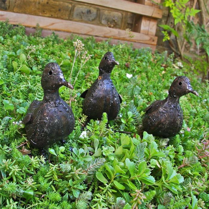 gartendeko metallfiguren - boisholz, Garten ideen