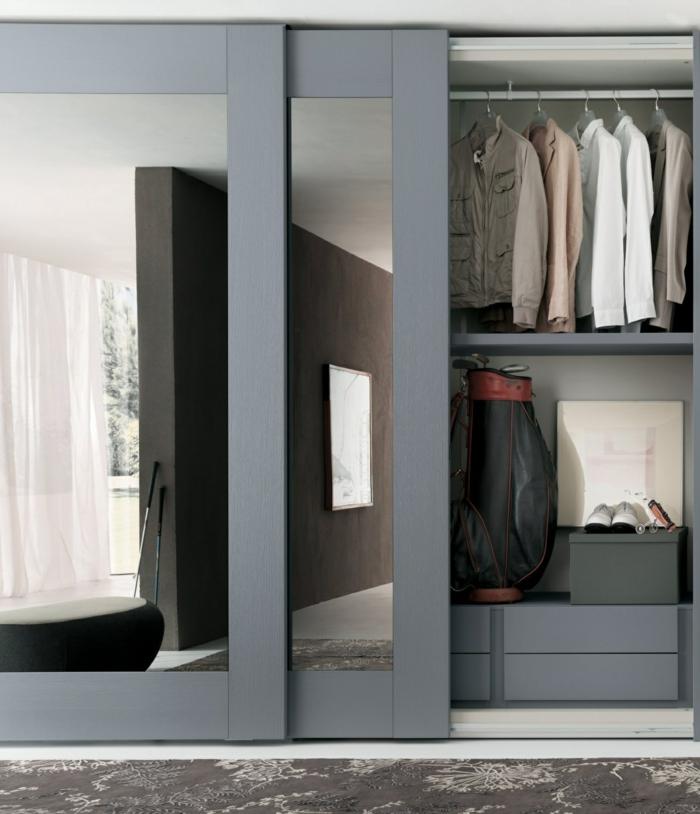 Begehbarer Kleiderschrank Selber Bauen Im Schlafzimmer ...