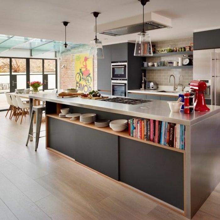 Startseite Design Bilder – Ideen Offene Küche Wohnzimmer Tapete ...