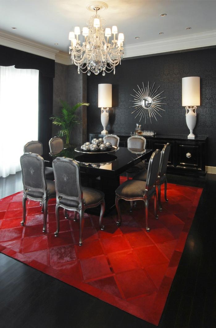Wandfarbe Schwarz 59 Beispiele fr gelungene Innendesigns  Fresh Ideen fr das Interieur