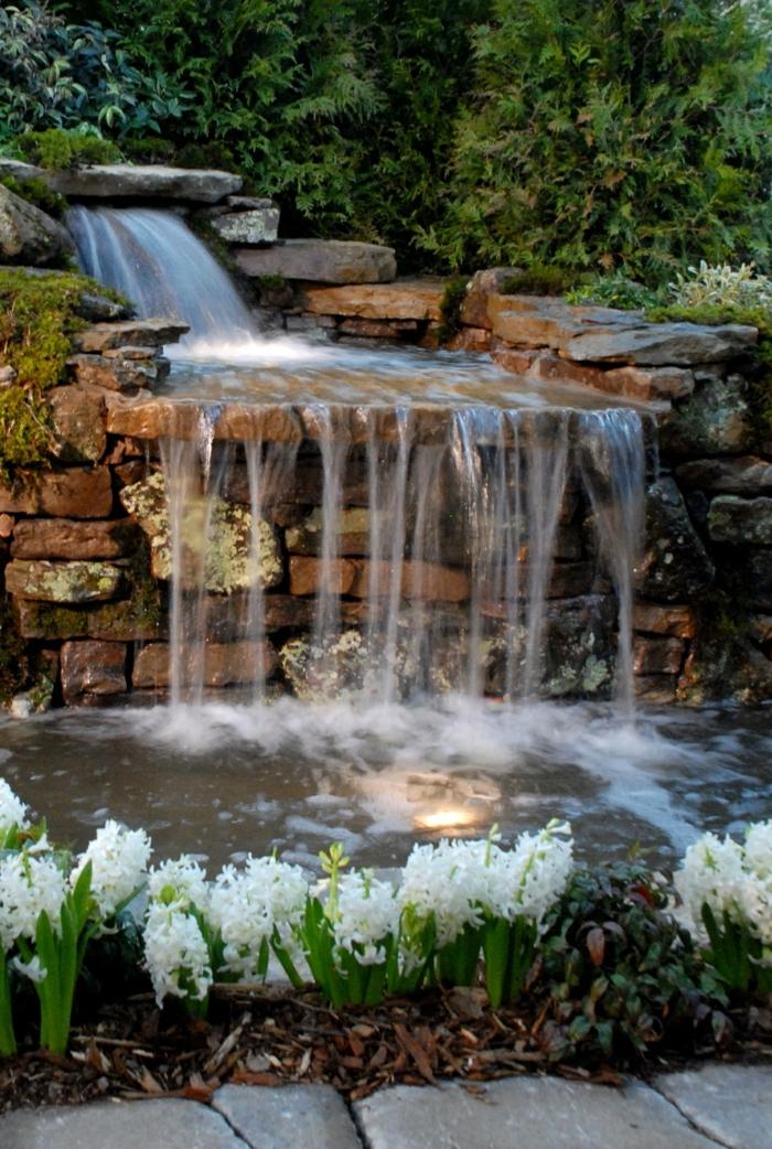 Wasserfall Im Garten Selber Bauen 99 Ideen, ...