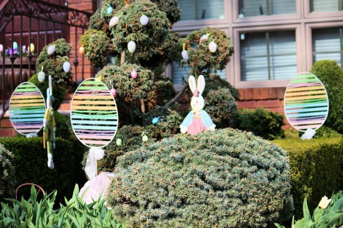 Osterdeko Garten 40 Interessante Gartenideen Für Die Festliche