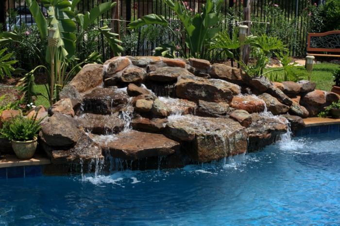 Wasserfall Im Garten Gartendeko Ideen - Boisholz