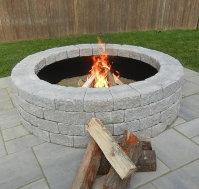 Wie knnen Sie eine Feuerstelle bauen  60 Fotobeispiele