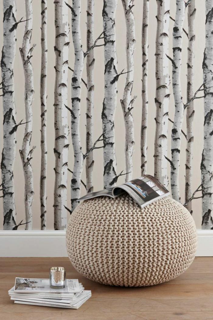 Ausgefallene Tapeten lassen Zimmer charaktervoll erscheinen