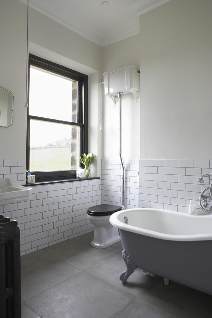 Wandgestaltung Bad  35 Ideen fr Badezimmergestaltung mit