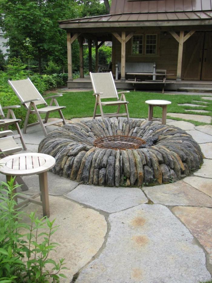 Gartengestaltung Feuerstelle Startseite Design Bilder