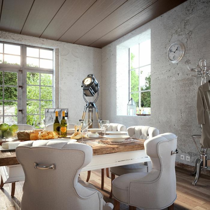 Wandfarben Trends Klassische Wohnzimmer Einrichtung Wandfarbe Lila