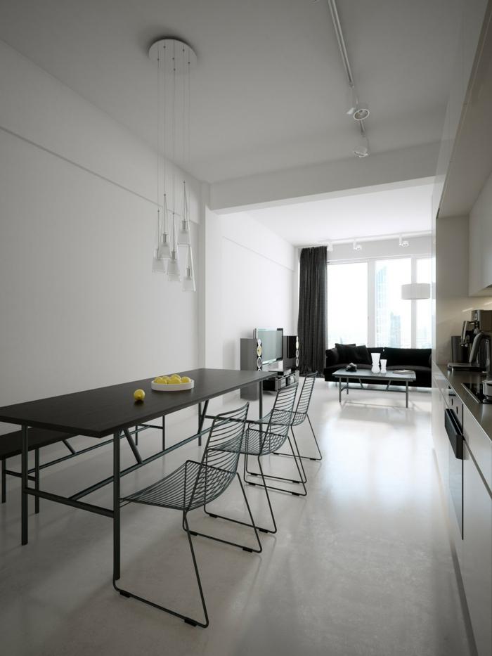 Startseite Design Bilder – Minimalistisch Moderne Esszimmer Möbel ...