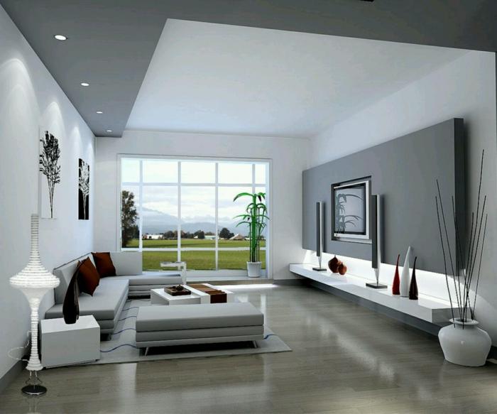 Wohnzimmer modern einrichten  59 Beispiele fr modernes Innendesign