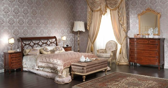 Schlafzimmer Ideen im viktorianischen Stil  40 Einrichtungsbeispiele