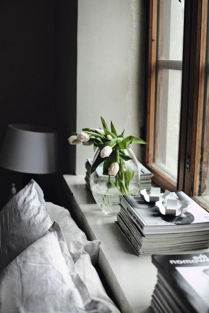 Fensterbank Dekoration  57 Ideen wie Sie das Potenzial