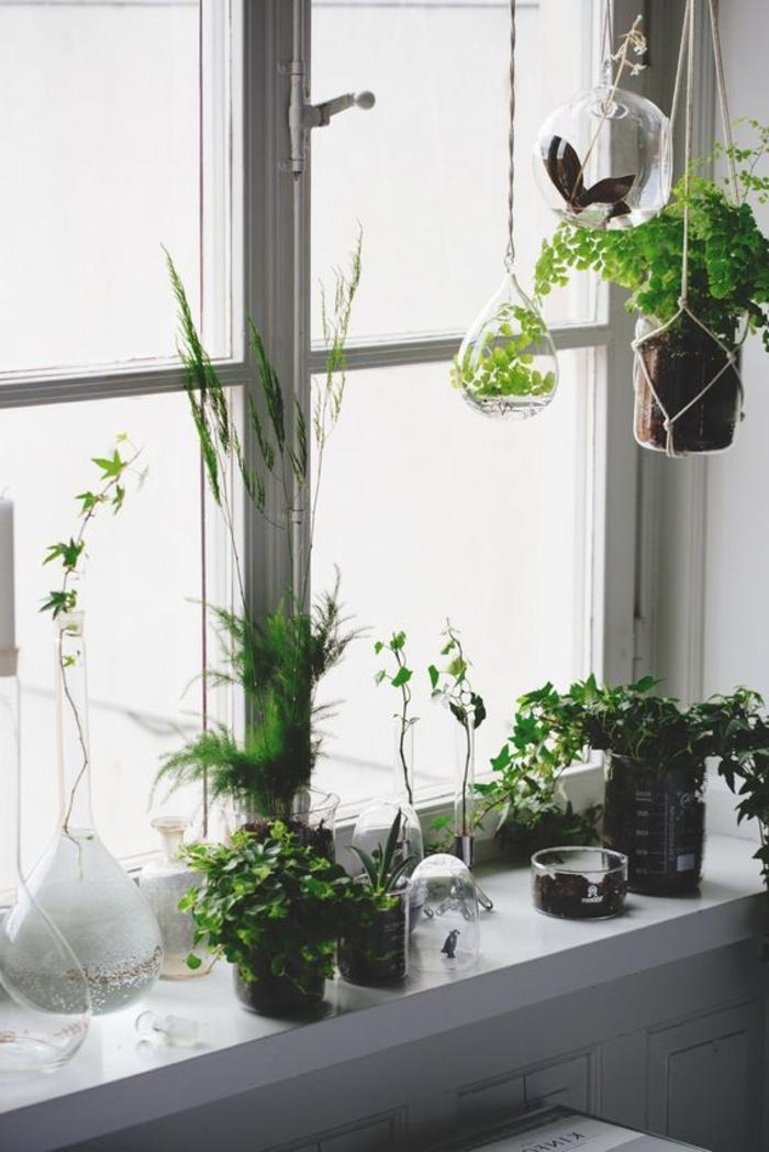 Fensterbank Dekoration  57 Ideen wie Sie das Potenzial der Fensterbank entdecken