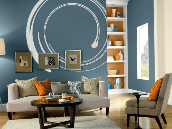 44 Wandgestaltung Ideen wie Sie den Raum beleben