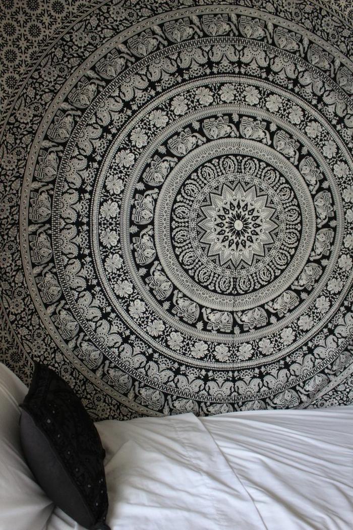 1001 Muster SchwarzWei lassen Sie eine Wandgestaltung mit Farbe vergessen