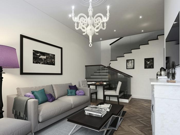Wohnzimmer Ideen Kleiner Raum ~ Kreative Bilder für zu Hause ...