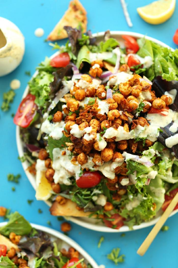 Salat Ideen mit welchen Sie satt und schlank den Sommer verbringen