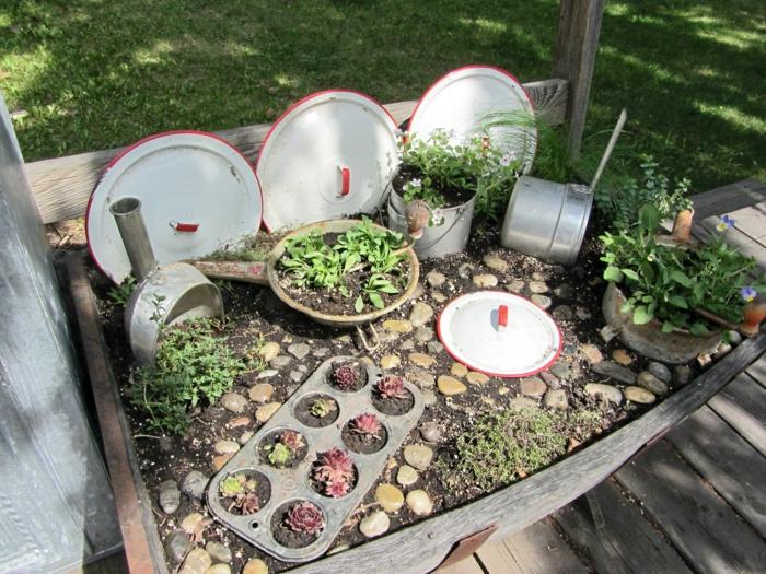 90 Deko Ideen Zum Selbermachen Für Sommerliche Stimmung Im Garten