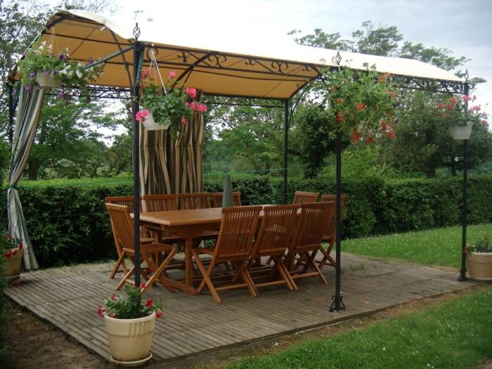 Pergola Mcwa41 Garten Pavillon Sonnensegel Stabiles Garten Pergola