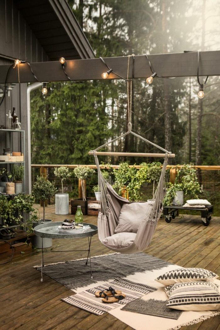 Hngesessel Garten und Garten Hngematte  60 Ideen wie Sie die perfekte Erholungsoase schaffen