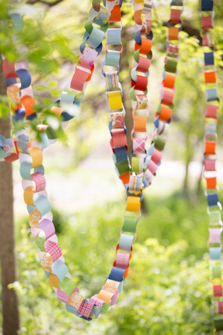 tischdeko gartenparty selber machen – usblife, Gartenarbeit ideen