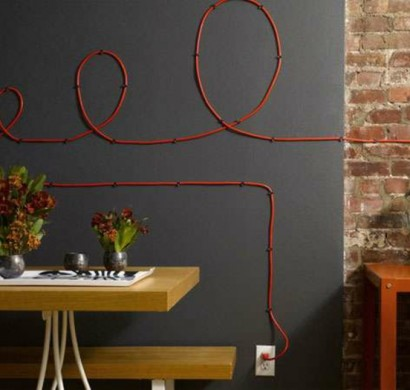 Kreative Deko Ideen wie Sie lstige Kabel verstecken knnen